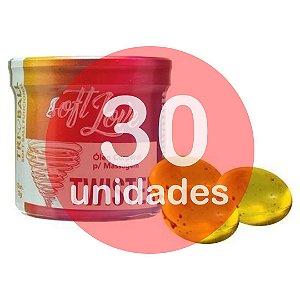 KIT30 - BOLINHA DO SEXO - FUNCIONAL TWISTER EXCITANTE VAGINAL 5 EM 1 - (LUBRIFICA, ESQUENTA, ESFRIA, VIBRA, PULSA)