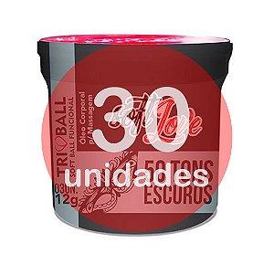 KIT30 - BOLINHA DO SEXO - FUNCIONAL CINQUENTA TONS ESCUROS