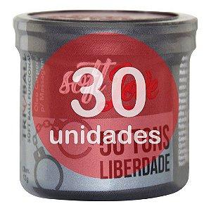 KIT30 - BOLINHA DO SEXO - FUNCIONAL CINQUENTA TONS DE LIBERDAD