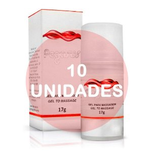 KIT10 -  PEGASUS - GEL EXCITANTE MASCULINO - 17gr