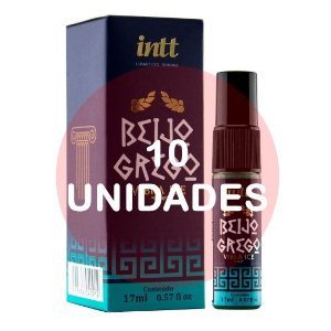 KIT10 - BEIJO GREGO - VIBRA ICE 17 ML