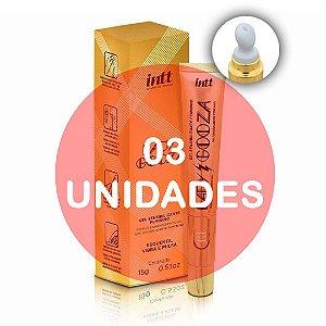 KIT03 - LADY GOOZA GEL SENSIBILIZANTE ATIVADOR DE ORGASMO - 15G