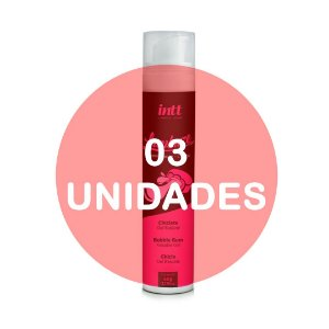 KIT03 - Lambuze Airless Gel Beijável Hot 50g  - Chiclete