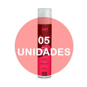 KIT05 - Lambuze Airless Gel Beijável Hot 50g  - Chiclete