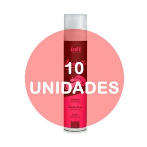 KIT10 - Lambuze Airless Gel Beijável Hot 50g  - Chiclete