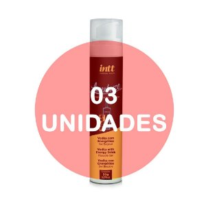 KIT03 - Lambuze Airless Gel Beijável Hot 50g  - Vodka com Energético