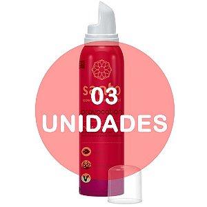 KIT03 - PROVOCATION MOUSSE EFERVESCENTE FRUTAS VERMELHAS - 166 ml