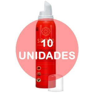 KIT10 - PROVOCATION MOUSSE EFERVESCENTE MORANGO - 166 ml