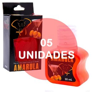 KIT05 - Gel comestível Hot 30ml - Amarula