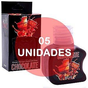 KIT05 - Gel comestível Hot 30ml - Chocolate