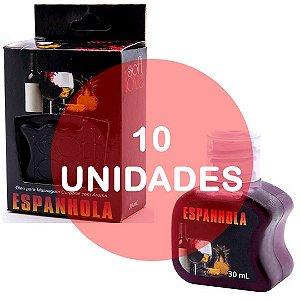 KIT10 - Gel comestível Hot 30ml - Espanhola