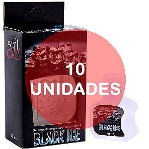 KIT10 - Gel comestível Ice 30ml - Black Ice