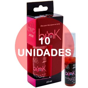 KIT10 - Blink 15ml jato - anestésico e excitante sexo anal