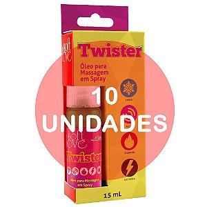 KIT10 - Twister jato 15ml - estimulador de orgasmo feminino