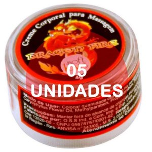KIT05 - Dragon Fire aquecimento - pomada  4gr