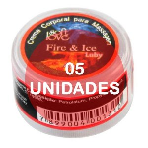 KIT05 - Fire & Ice  (esquenta e esfria) - pomada  4gr