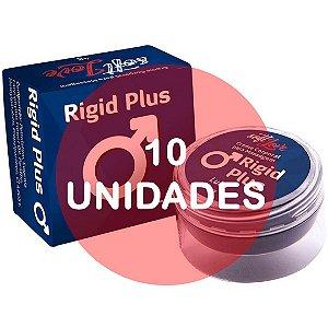 KIT10 - Rigid plus (provocador masculino para ereção) - pomada  4gr