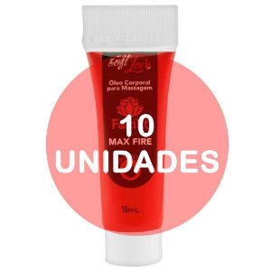 KIT10 - Facilit Max Fire Bisnaga Anestésico Anal 15ml