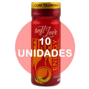 KIT10 - Energético Fire Pepper Drink 60ml