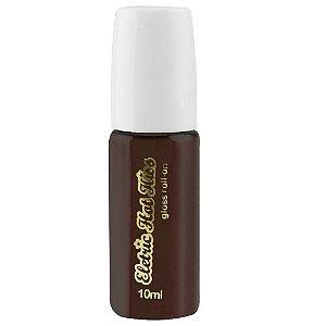 Gloss Gel Elétrico Hot Comestível 10ml - Morango com Chocolate