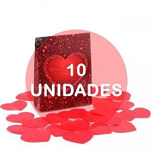 KIT10 - Petalas de coracao perfumado
