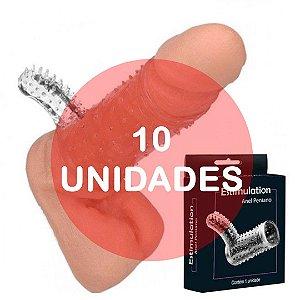 KIT10 - Capa peniana com estimulador