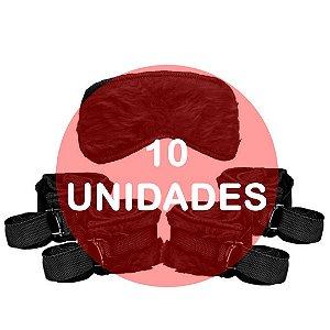 KIT10 - Kit bondage - cor preta