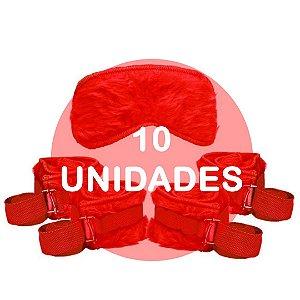 KIT10 - Kit bondage - cor vermelha