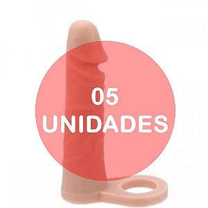 KIT05 - Anel peniano companheiro para dupla penetração 17 x 4 cm