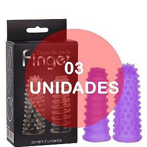 KIT03 - Dedeira capa de dedo reto lilas