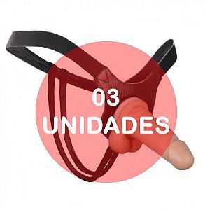 KIT03 - Cinta com pênis strapon para iniciante - 12x3.3cm