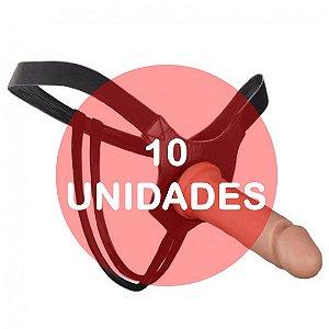 KIT10 - CINTA COM PÊNIS STRAP ON - 17X3,8CM