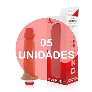 KIT05 - Pênis com vibrador 17x4 cm