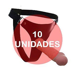 KIT10 - Cinta com pênis strapon 20x5 cm
