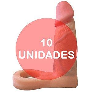 KIT10 - Anel peniano companheiro para dupla penetração 13 x 3.5 cm