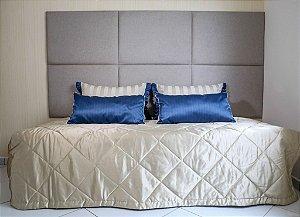 Enxoval de cama azul marinho