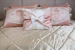 Enxoval de cama romance