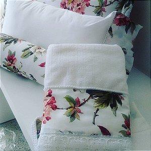 Enxoval de cama e banho 13 peças 100% algodão