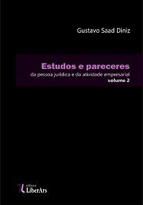 Estudos e pareceres da pessoa jurídica e da atividade empresarial - volume 2
