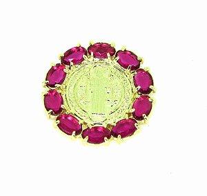 Pingente Folheado a Ouro Rosa PGCNR-0719