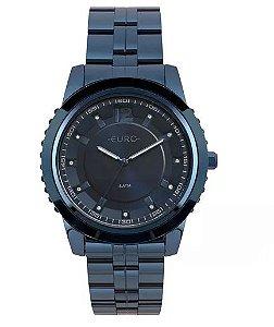 ATACADO Relógio Euro Feminino Metal Glam Azul - EU2035YOE/4A