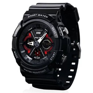 Relógio Masculino Skmei AnaDigi 0966 - Preto