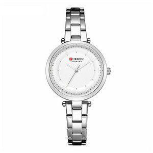Relógio Feminino Curren Analógico C9054L - Prata