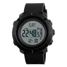 Atacado Relógio Masculino Skmei Digital 1215 - Preto e Azul