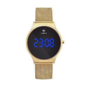 Relógio Feminino Tuguir Digital TG107 – Dourado