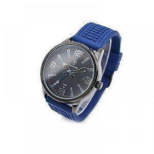 Relógio Masculino Tuguir Analógico 5054 Azul e Preto