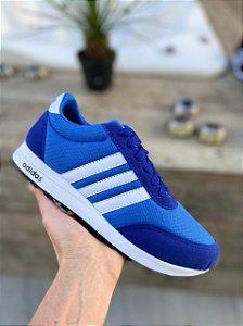 Tênis Masculino Adidas New Racer 2 - Azul