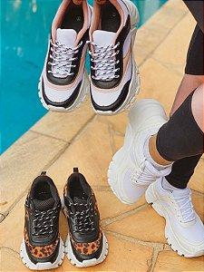 Tênis Sneaker Chunky Feminino Blogueira Flatform