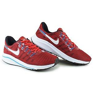 Tênis Esportivo Caminhada Masculino Nike Air Zoom Vomero - Vermelho