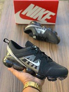Tênis Esportivo Caminhada Masculino Nike Vapormax 2 - Preto